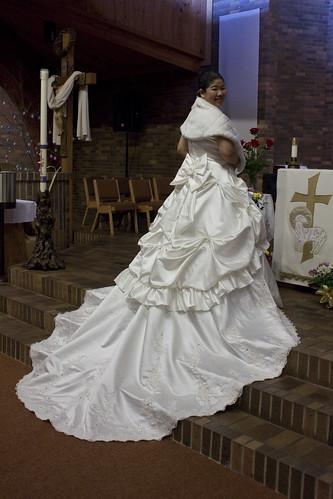 Jane's wedding dress