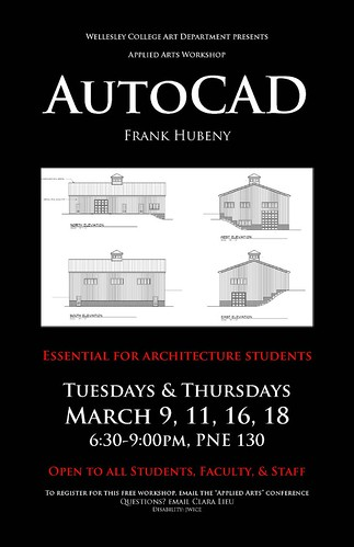 AutoCAD Poster