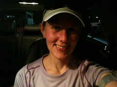 After my run on May 4 2010