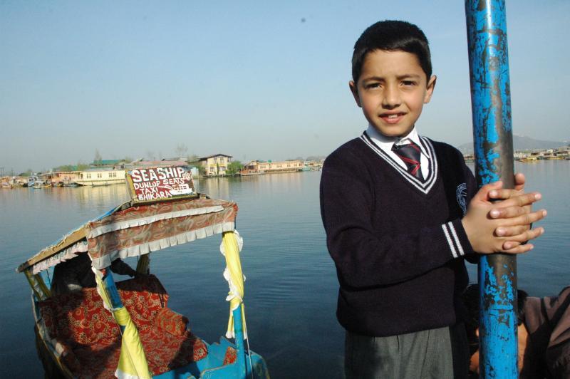 waiting by the boulevard, Srinagar, J&K, India