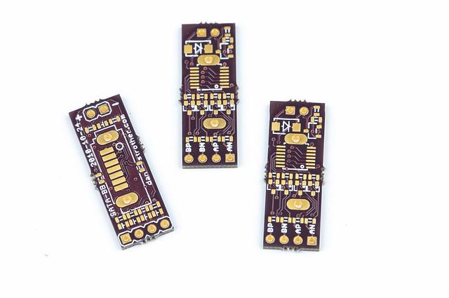 SATA breakout/breadboard PCBs