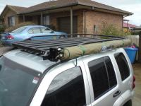 LOST JEEPS  View topic - Hannibal roof rack for the KJ.