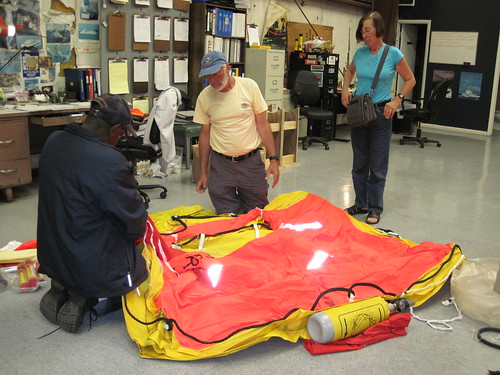 Life Raft unwrapped