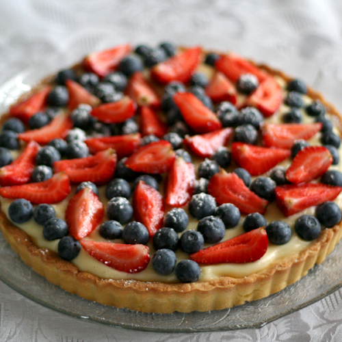 summer berry tart (1/365)