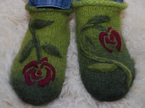 Fuzzy-Rosy Feet