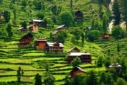 Kutan, Kashmir, Pakistan. (Green Land)