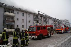 Dachstuhlbrand Mainz-Finthen 09.02.10