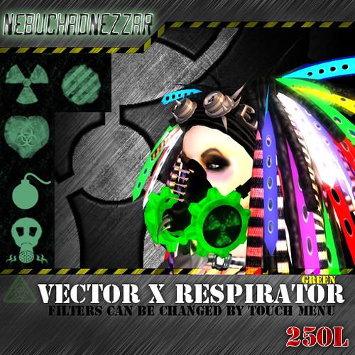 NDN - Vector X Respirator green