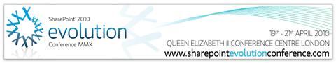 SharePoint 2010 Evolution Conference
