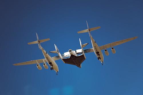 "VSS Enterprise First Flight       The Triumph of Private \"" width="