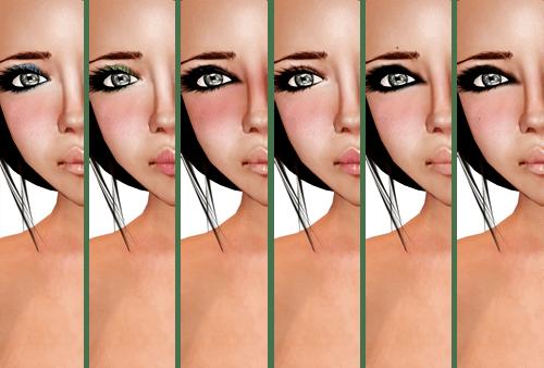NEW! DeeTaleZ April Skin - Brown Dark