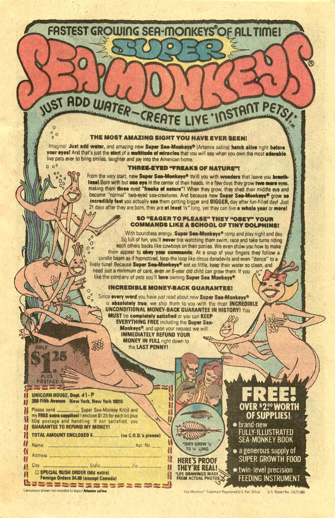 Super Sea Monkeys