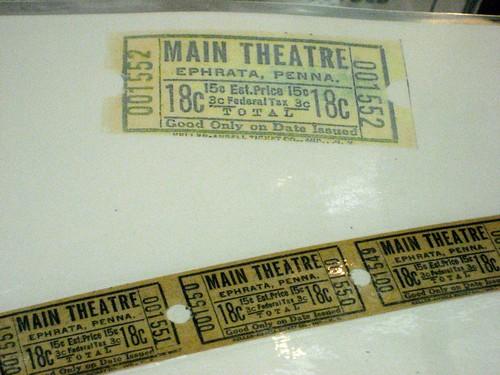 Main Theatre Tickets