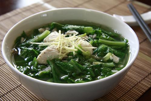 Rau cải xanh Okinawa