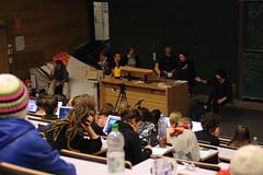 Plenum im Hörsaal C1