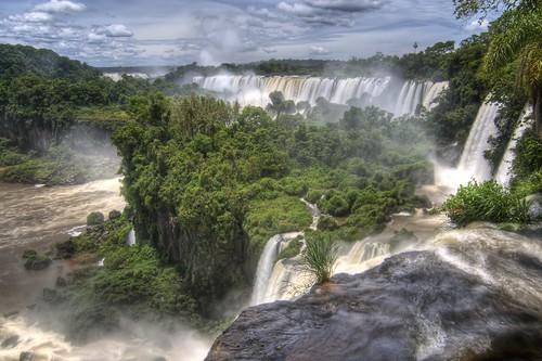 Iguazu Falls from the Upper Circuit