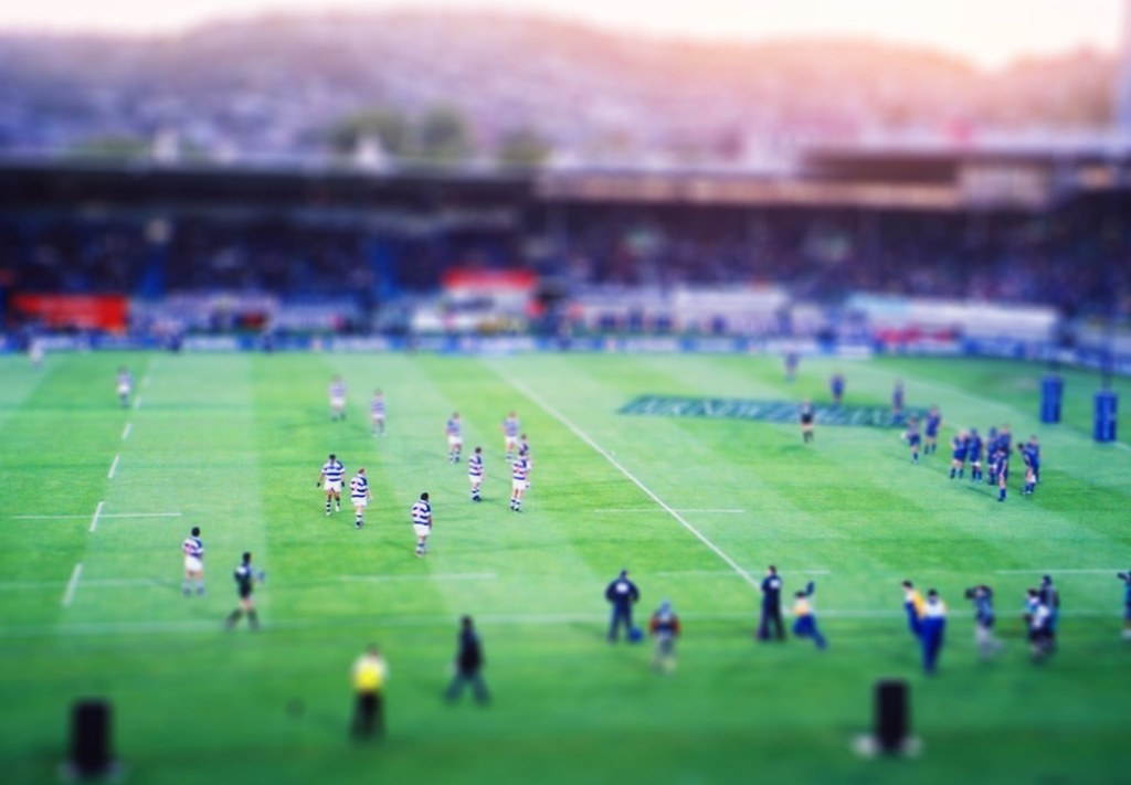 Tilt-Shift :: Rugby 2003