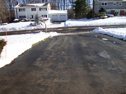 Nice Clean Driveway - 2/7/10