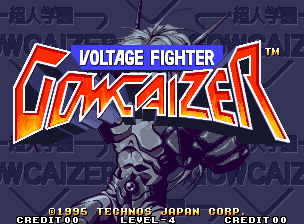 Voltage Fighter Gowcaiser