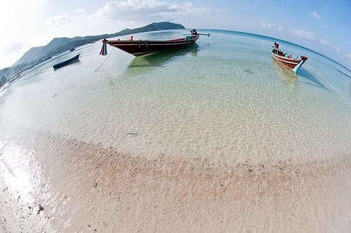 Thailand boat beach