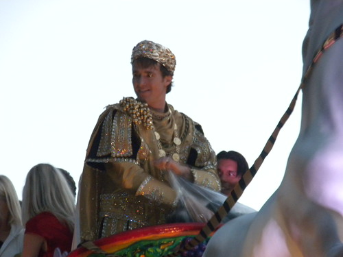 Drew Brees Photo as Bacchus 2010