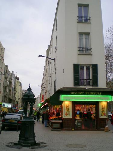 rue de Meaux, 19th arr Paris