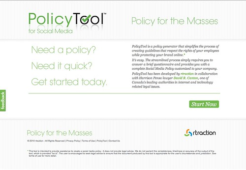 Tech: Policy Tool