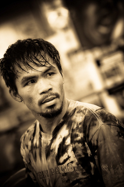 manny pacquiao training