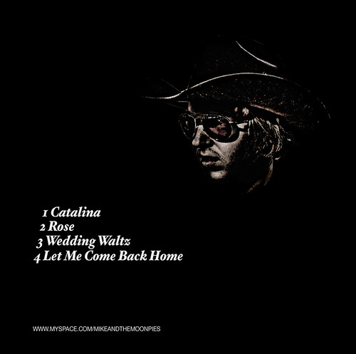 Mike and the Moonpies 'Catalina' Album - Back