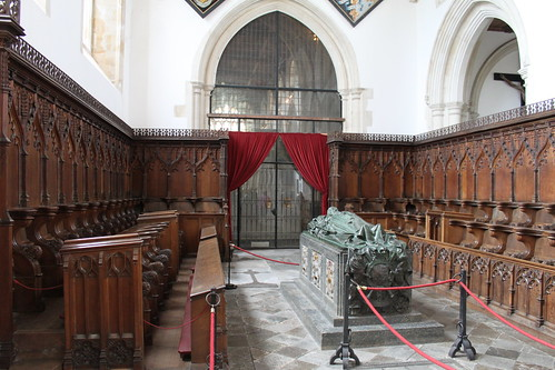 Inside Fitzalan chappel, looking towards the protestant side