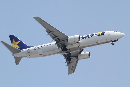 Skymark B737-800(JA737M)