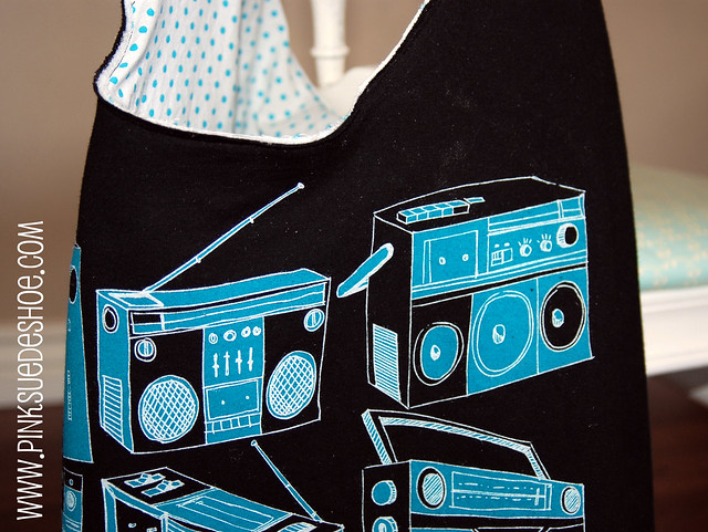 radio bag detail