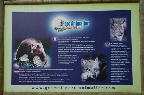 Im Parc animalier de Gramat
