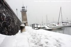 Faro e porto di Desenzano del Garda