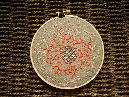 Mysterious Vines Embroidery
