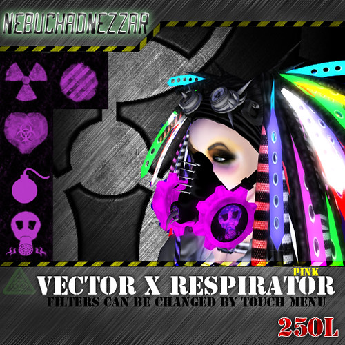 NDN - Vector X Respiratorpink