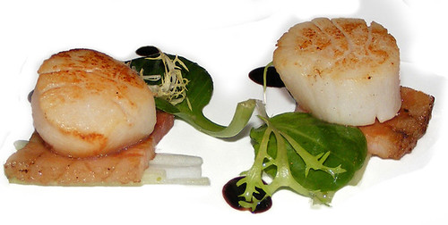 Scallop with Belly Pork