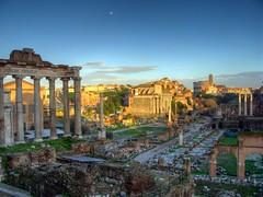 Roman Forum and Colosseum