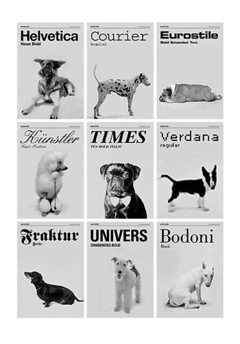 dogsasfonts