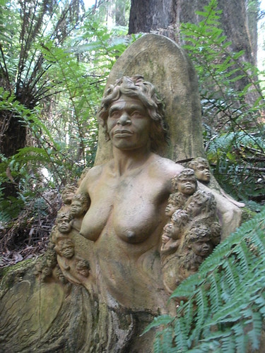 """William Ricketts Sanctuary - """"Earthly Mother"""""""