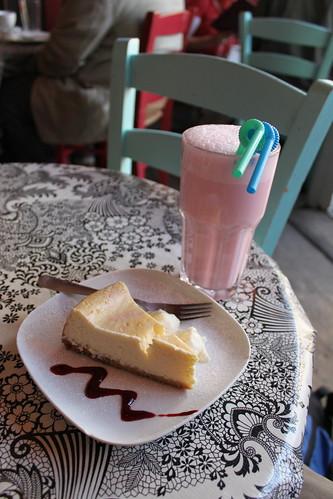 Cheesecake and 'shake