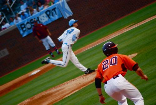 baseball: va tech @ unc, game two