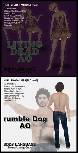 Living Dead - Rumble Dog AO-vert