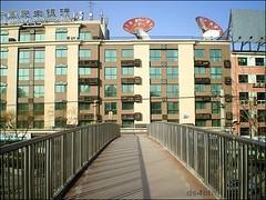 Beijing - footbridge