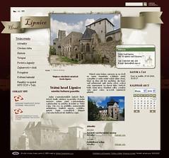 Nový web hradu Lipnice