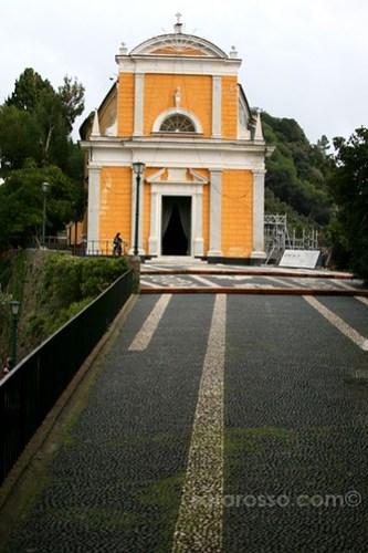 Chiesa San Giorgio, St. George Church, Portofino, Italian Riviera, Italy