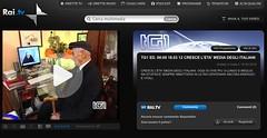 Nonno vito skyping, on RAI TG1 homepage