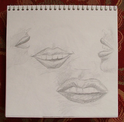 mouth doodles