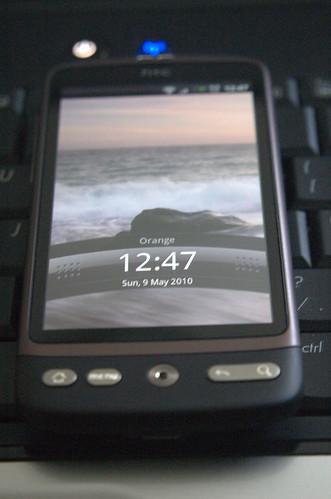 HTC Desire Close up