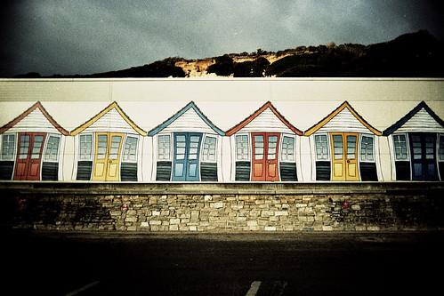 beach huts?